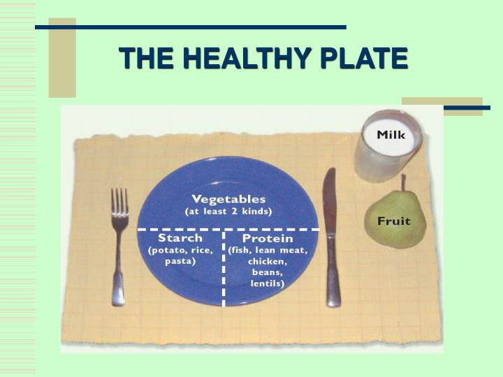 THE HEALTHY PLATE