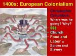 1400s european colonialism