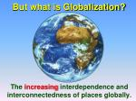 but what is globalization