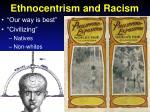 ethnocentrism and racism