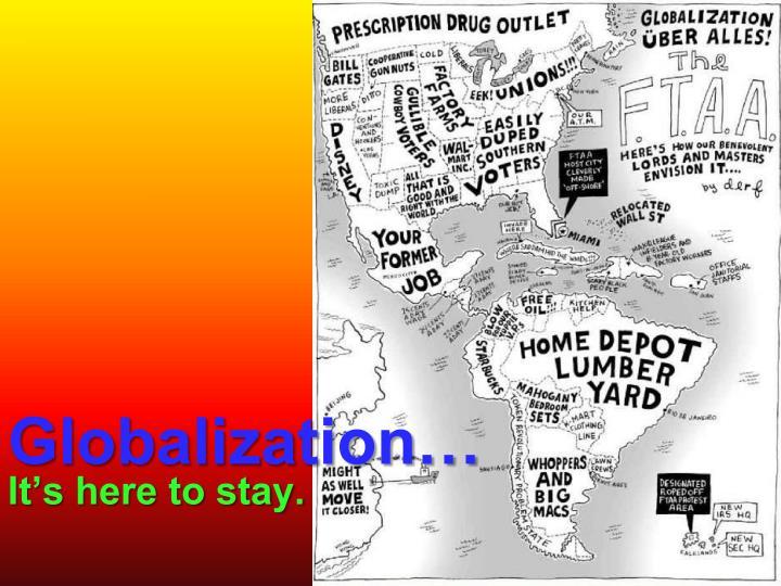 Globalization…