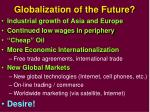 globalization of the future