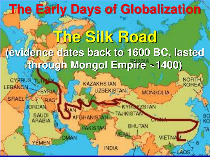 The Early Days of Globalization