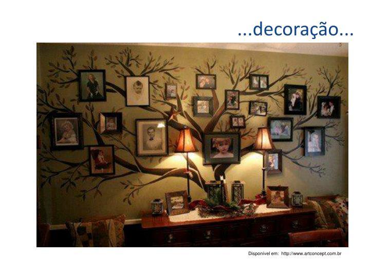 ...decoração...
