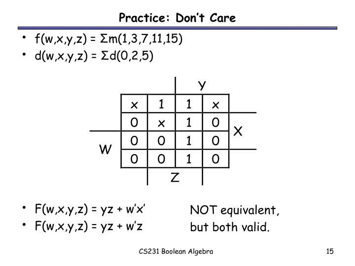 f(w,x,y,z) =