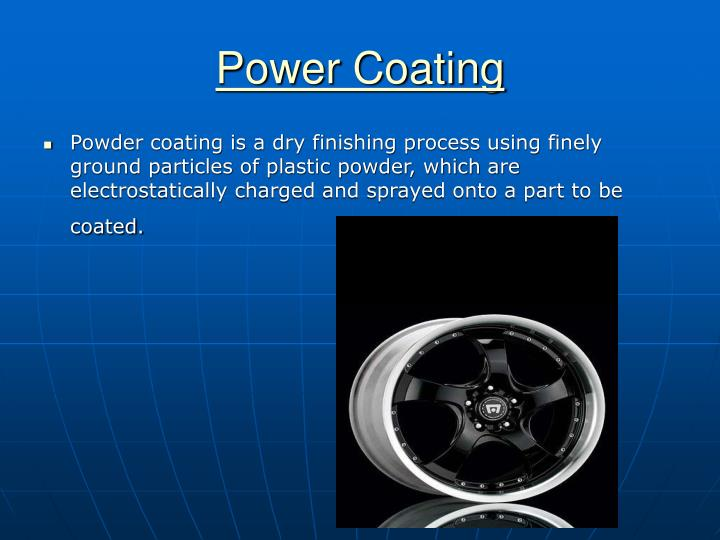 Power coating