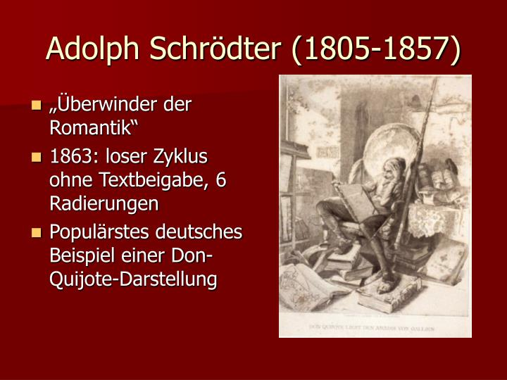 Adolph Schrödter (1805-1857)