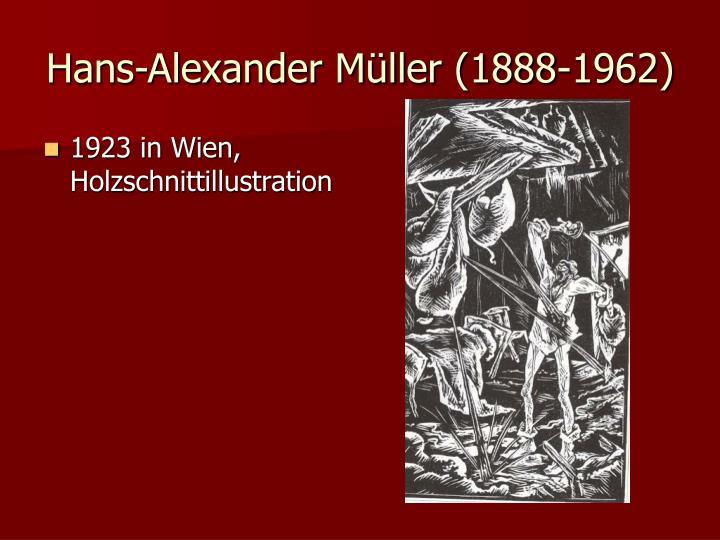 Hans-Alexander Müller (1888-1962)