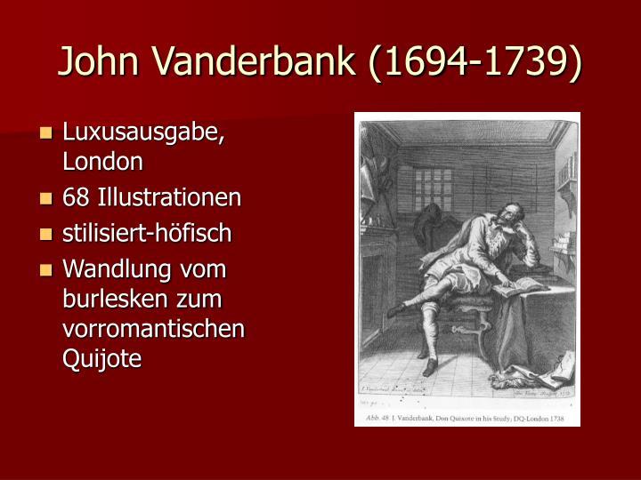 John Vanderbank (1694-1739)