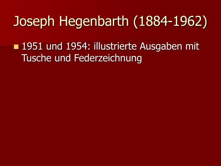 Joseph Hegenbarth (1884-1962)