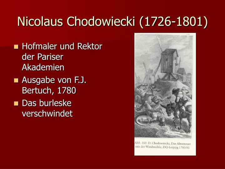 Nicolaus Chodowiecki (1726-1801)