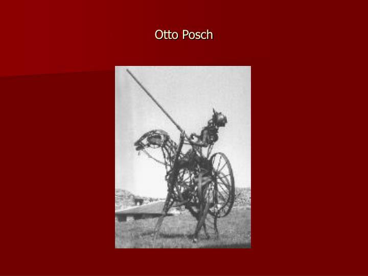 Otto Posch