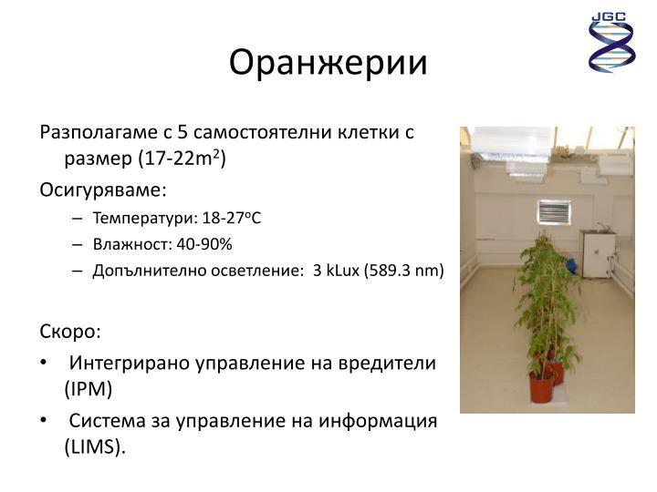 Оранжерии