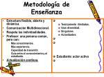 metodolog a de ense anza1