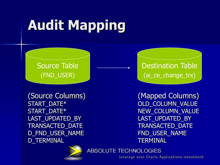 Audit Mapping