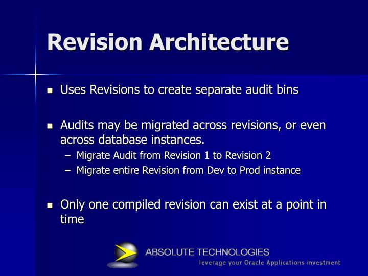 Revision Architecture