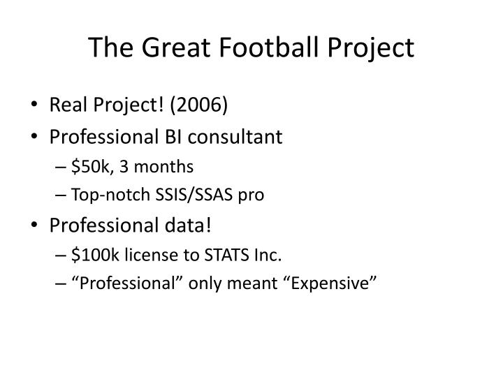 The Great Football Project