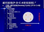 p d c a 2