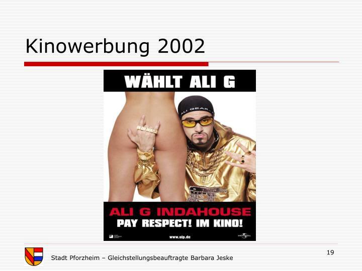 Kinowerbung 2002