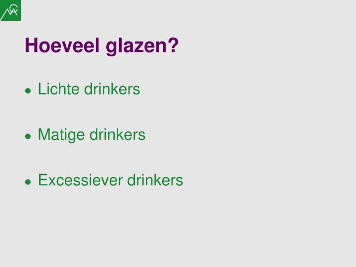 Hoeveel glazen?