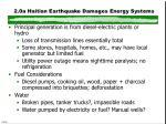 2 0a haitian earthquake damages energy systems