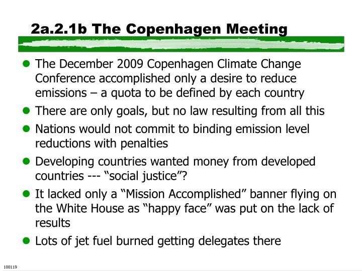 2a.2.1b The Copenhagen Meeting