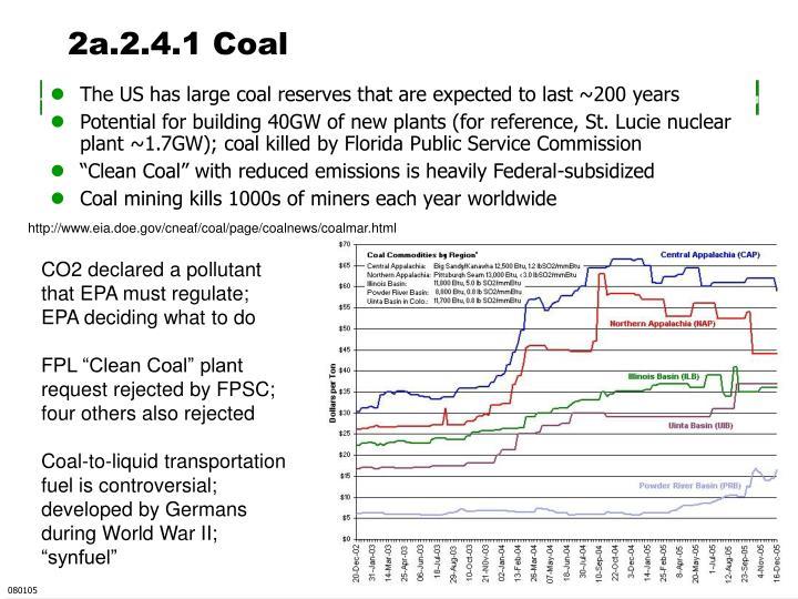 2a.2.4.1 Coal