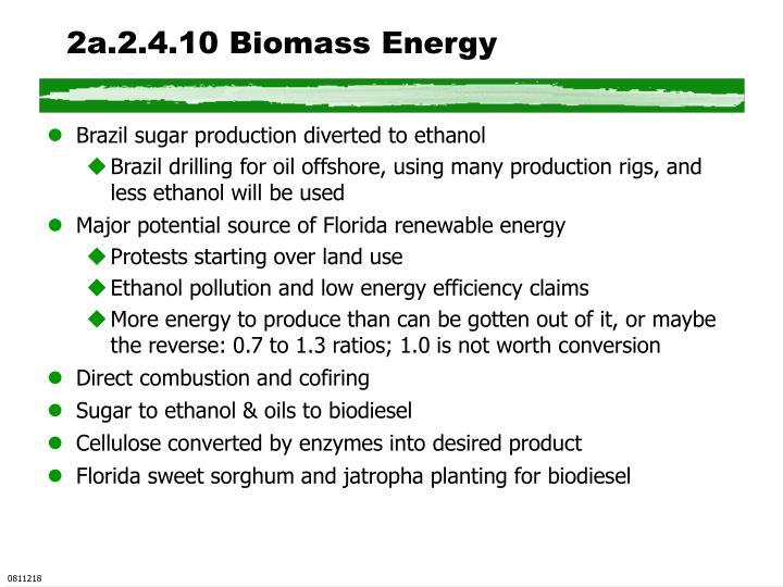2a.2.4.10 Biomass Energy