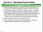 2a 2 4 3 1 merchant power plants