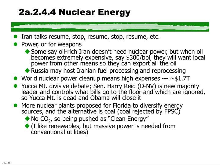 2a.2.4.4 Nuclear Energy