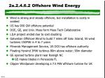 2a 2 4 6 2 offshore wind energy
