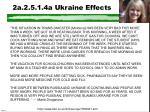 2a 2 5 1 4a ukraine effects