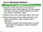 2a 3 1 worldwide markets