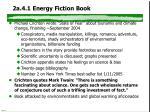 2a 4 1 energy fiction book