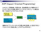 aop aspect oriented programming