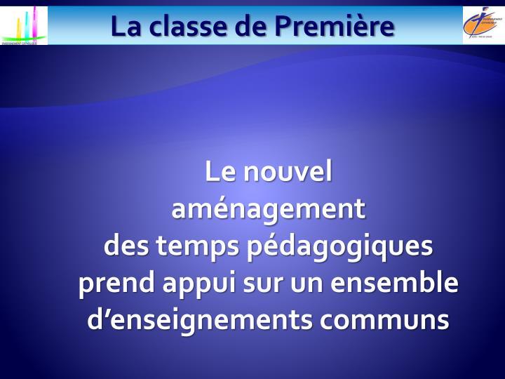 La classe de Première