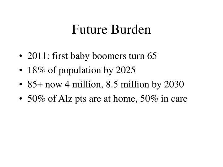 Future Burden