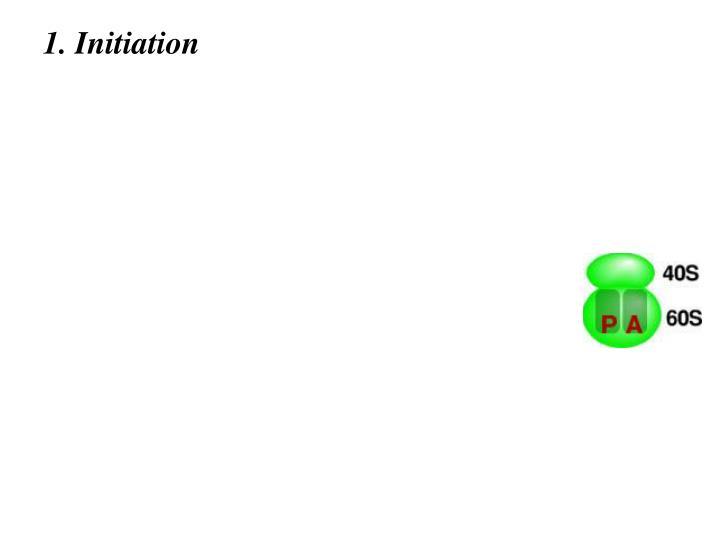 1. Initiation