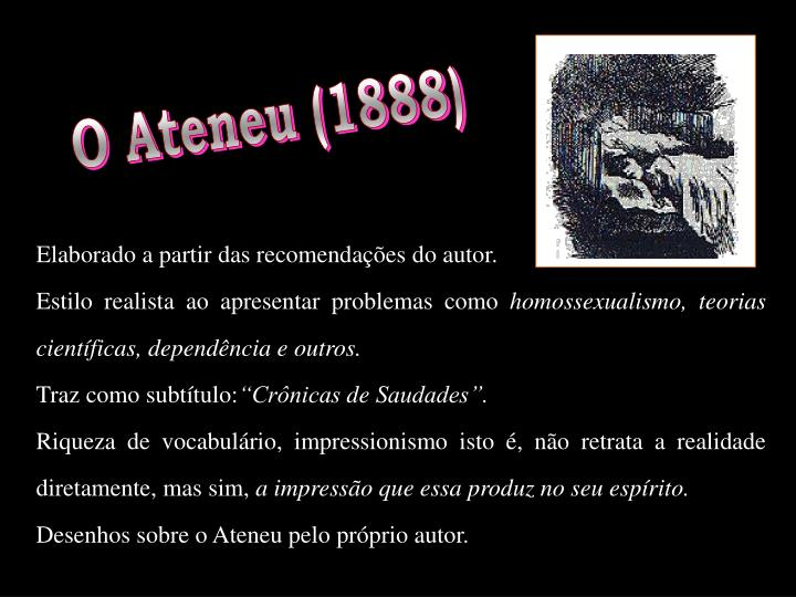 O Ateneu (1888)
