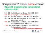 compilation 2 works same creator1