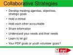 collaborative strategies