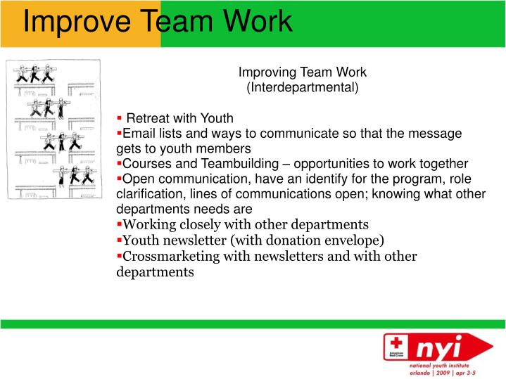Improve Team Work