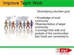 improve team work1