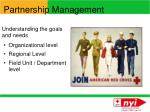 partnership management