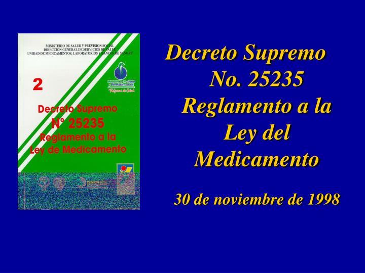 Decreto Supremo