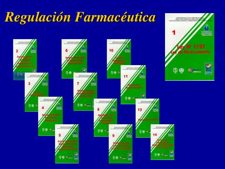 Regulación Farmacéutica