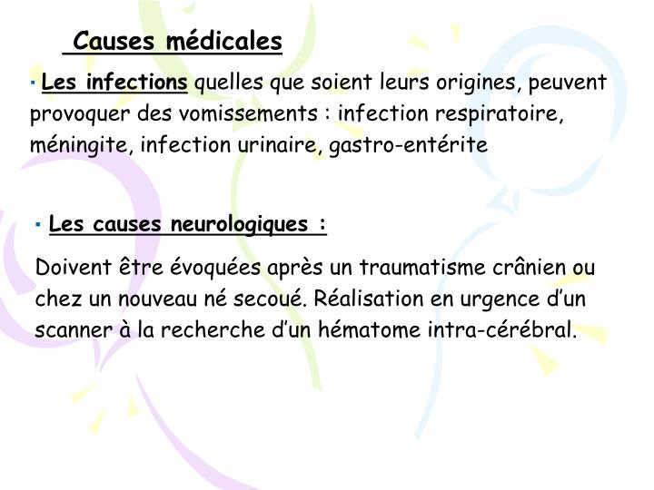 Causes médicales