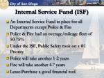 internal service fund isf