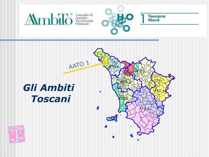 Gli Ambiti Toscani