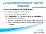 2 2 assembly of instrument trays and hollowware1
